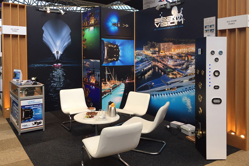 METS boat show Underwater Lights USA