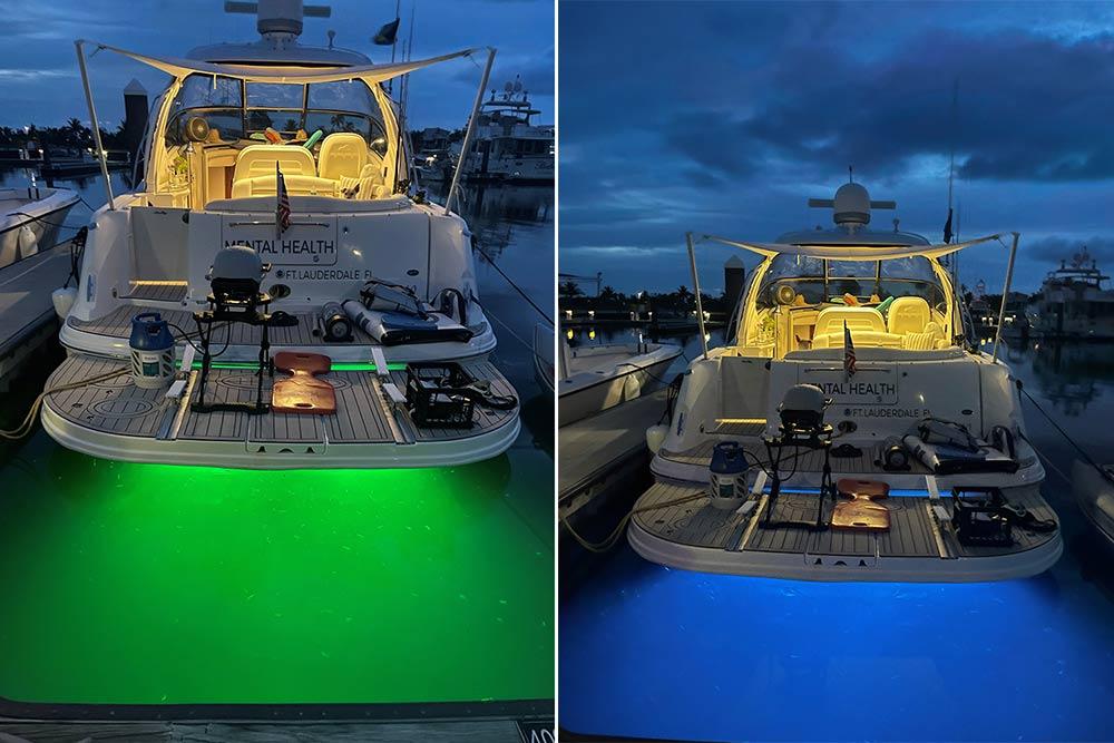 SV19 RGBW underwater lights