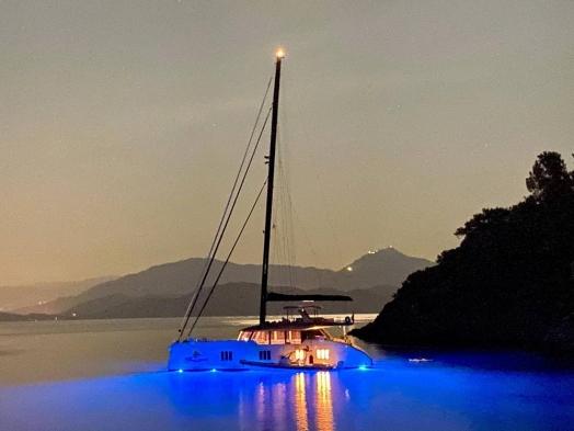 SV20 LED blue underwater light