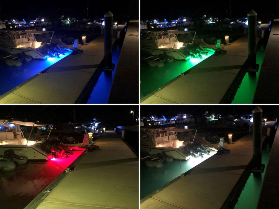 SV55 RGBW underwater lights