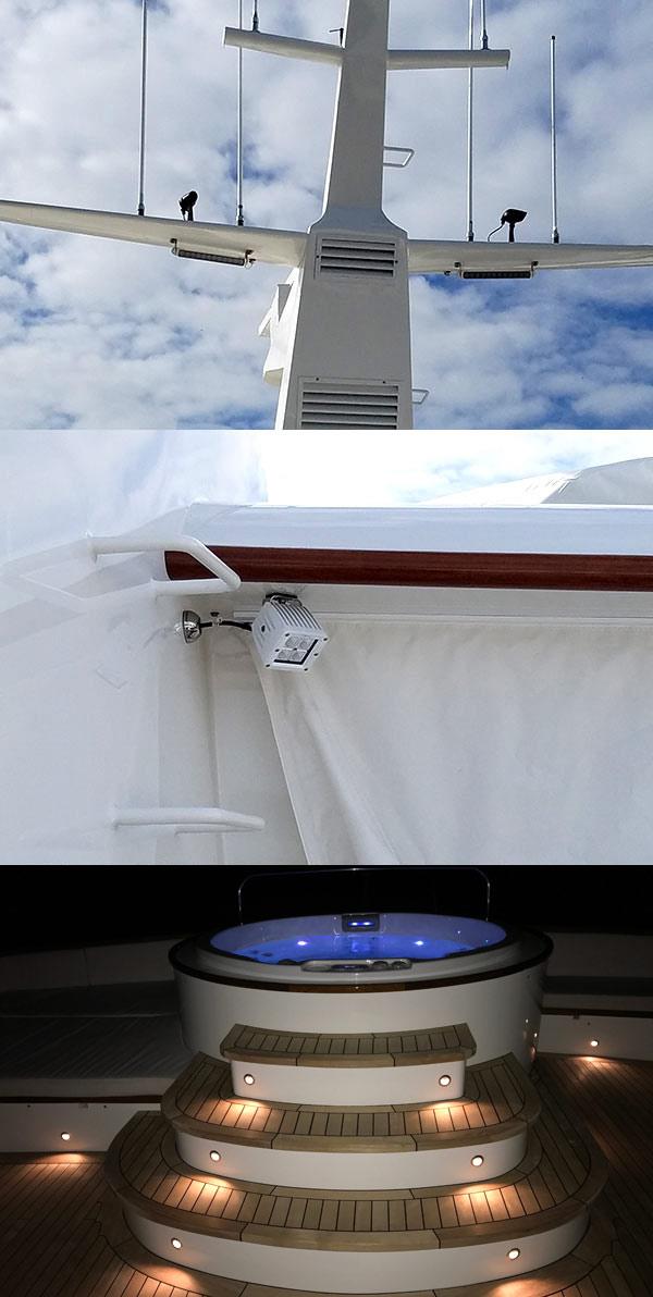 exterior deck lights